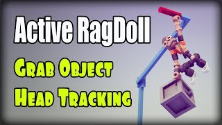 Active ragdoll in Unity, Hit Reaction, Balance On a Rough