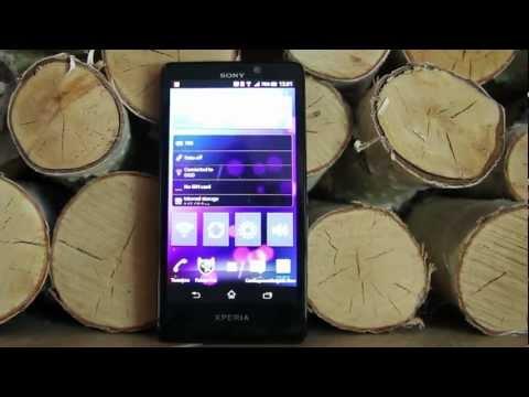 Обзор Sony Xperia T
