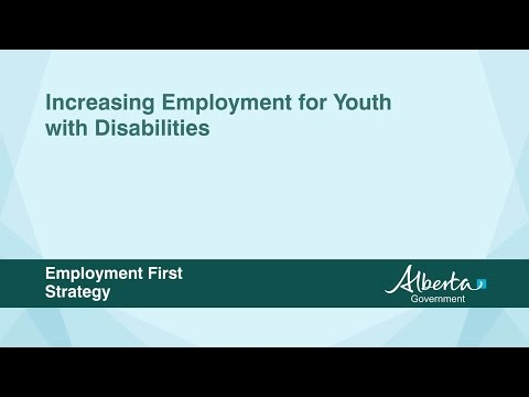 Increasing Employment for Youth with Disabilities