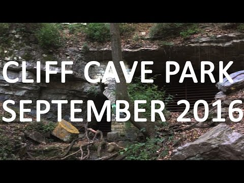 A Quick Visit to Cliff Cave Park St. Louis MO USA September 2016