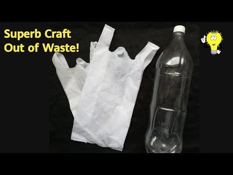 Best Out Of Waste Easy - Waste Material Craft Ideas For Home Decoration