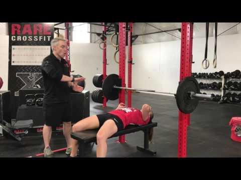 RARE CrossFit Bench Press