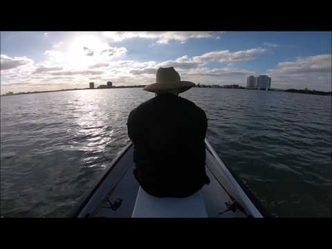 Flats Fishing Biscayne Bay On A Gheenoe LT10! Choppy Water Test & Lots Of Excuses!