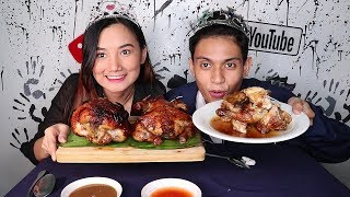 Roasted and Grilled CHICKEN MUKBANG!!!