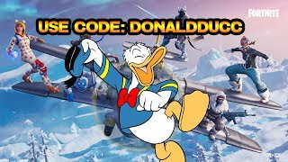 USE MY SUPPORT CREATOR CODE: DONALDDUCC IN THE FORTNITE ITEM SHOP!!!