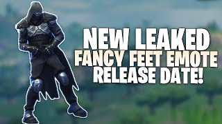 Fortnite *NUEVO* Fancy Feet Emote Release Date - Rare Emote Coming Soon Leaked