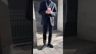 스탠드 울 블레이저 자켓 (2color)
