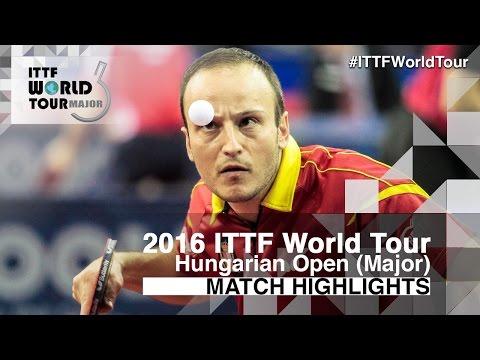Hungarian Open 2016 Highlights: MACHADO Carlos vs KIM Minseok (R32)