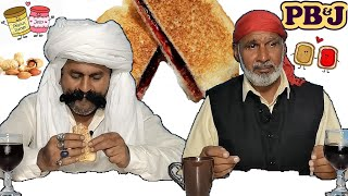 Tribal People Try PB&J Sandwich for the First Time