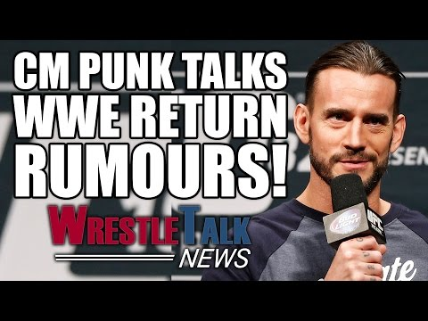 CM Punk Talks WWE Return Rumors & UFC Future! Conor McGregor Wrestling In WWE? | WrestleTalk News
