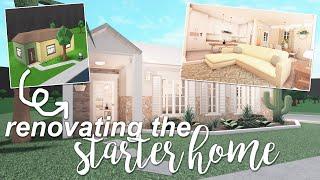 renovating the starter house | ROBLOX Bloxburg