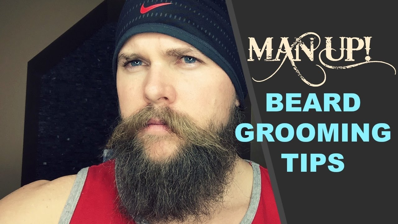man up beard grooming tips youtube. Black Bedroom Furniture Sets. Home Design Ideas