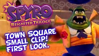 Spyro Reignited Trilogy - First Glimpse Of Town Square! High Caves Concept Art Revealed