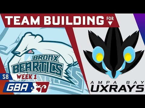 Bronx Beartics - Team Building for the Tampa Bay Luxrays [GBA S8 W1]