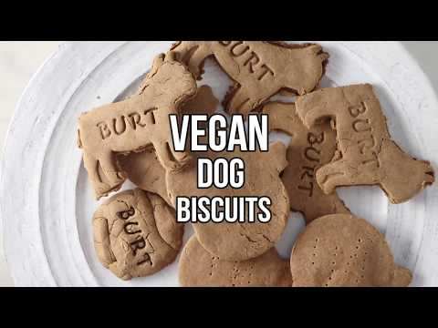 Vegan Dog Biscuit Recipe