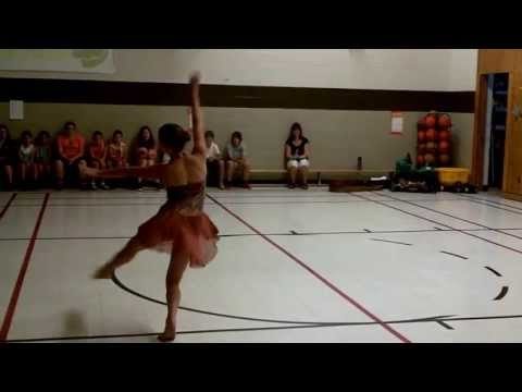 Acro solo for talent show