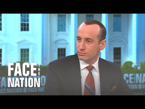 On Face the Nation, Stephen Miller Showed How NOT to Handle Hair Loss