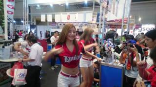 160807 台中資訊展 大通電子Lamigirls(小喵.小Mia)16:00舞臺表演