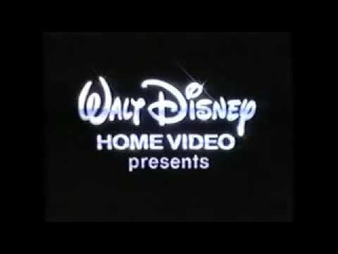 Walt Disney Home Video Presents 1993 1998 Company Logo Youtube