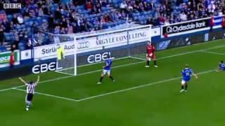 Rangers 1-1 St Mirren - Steven Thompson Goal