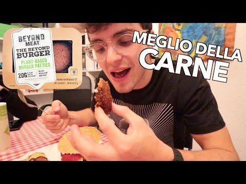 Provo l'hamburger VEGANO del FUTURO: MEGLIO DELLA CARNE!