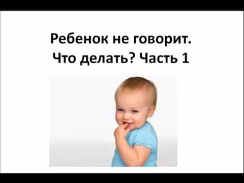 Нужно ли волноваться, если ребёнок в 2,5 - 3 года не заговорил. Что предпринимать?