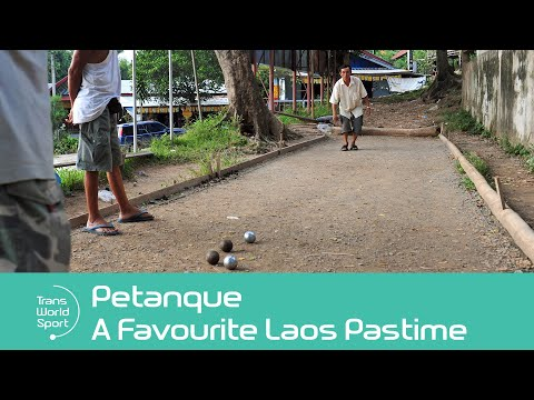 Petanque: Laos' Favourite Pastime | Trans World Sport
