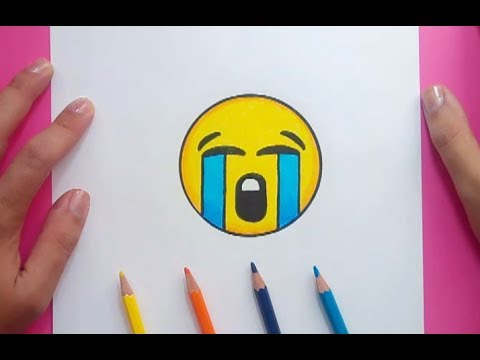 Como Dibujar Un Emoji Paso A Paso 2 How To Draw An Emoji 2 Youtube
