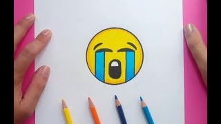 Como dibujar un Emoji paso a paso 2 | How to draw an Emoji 2
