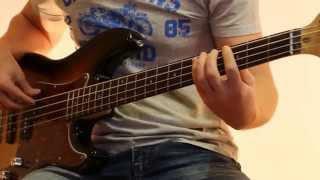 Как играть на бас гитаре ели мясо мужики - Король и шут ( видеоурок Guitar riffs)