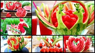 TOP WATERMELON TRICKS WITH FRUITS AND VEGGIES 2019