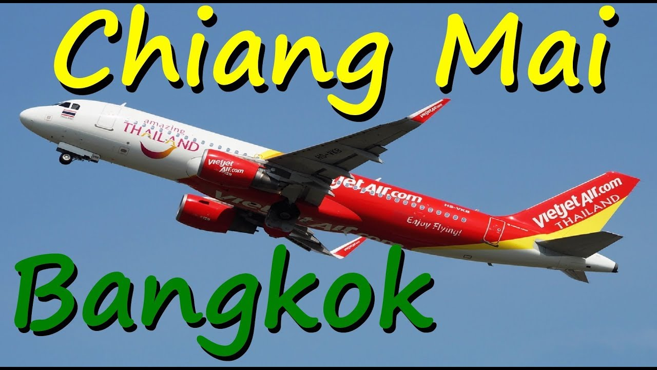 Thai VietjetAir | Chiang Mai – Bangkok | A321 | economy class