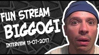 Big GOGI снова в гостях на фан стриме! 11.07.2017