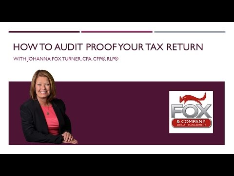 How To Audit Proof Your Tax Returns