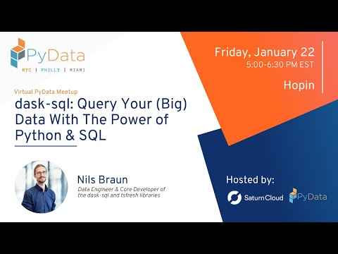 dask-sql: Query Your (Big) Data With The Power of Python & SQL