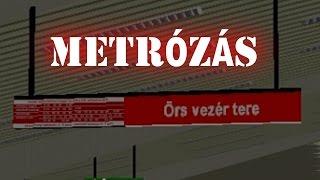 OpenBVE gameplay (HUN) - Örs vezér tere - Déli pályaudvar - M2 metró Budapest - Alstom