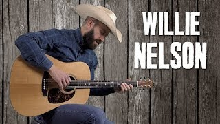 Willie Nelson Country Strumming & Fills - Style of Blue Eyes...