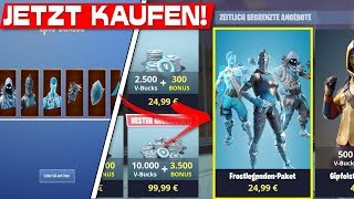FROST-LAYING PACK NOW! | Fortnite Frozen Legends Packet