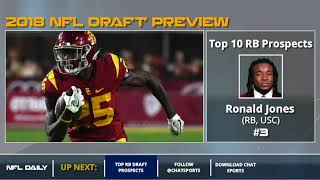 Top 10 Running Back Prospects In 2018 NFL Draft