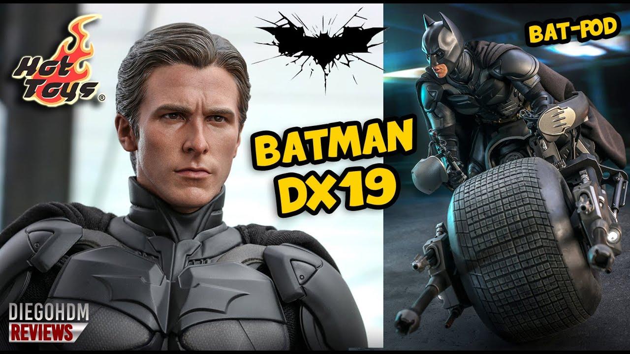 PREVIEW Hot Toys BATMAN DX19 e BAT-POD The Dark Knight Rises / DiegoHDM