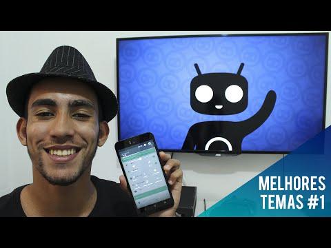 Os 5 melhores TEMAS para Cyanogenmod #1 - Nova série de personalização no canal!