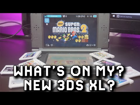 What's On My New 3DS XL 2016 Edition