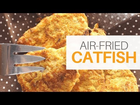 **KETO** Air-Fried Catfish (Low Carb, High Fat) | Paleo | Bulletproof Whey