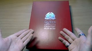 Queen Absolute Greatest Deluxe Limited Box Set Unboxing