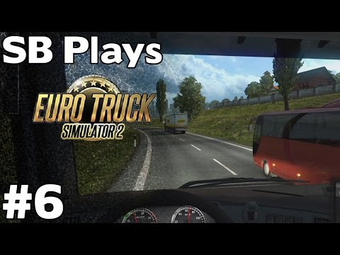 Unsafe Passing - Tractors (Hamburg to Dresden (499km))  - SB Plays Euro Truck Simulator 2 ep6