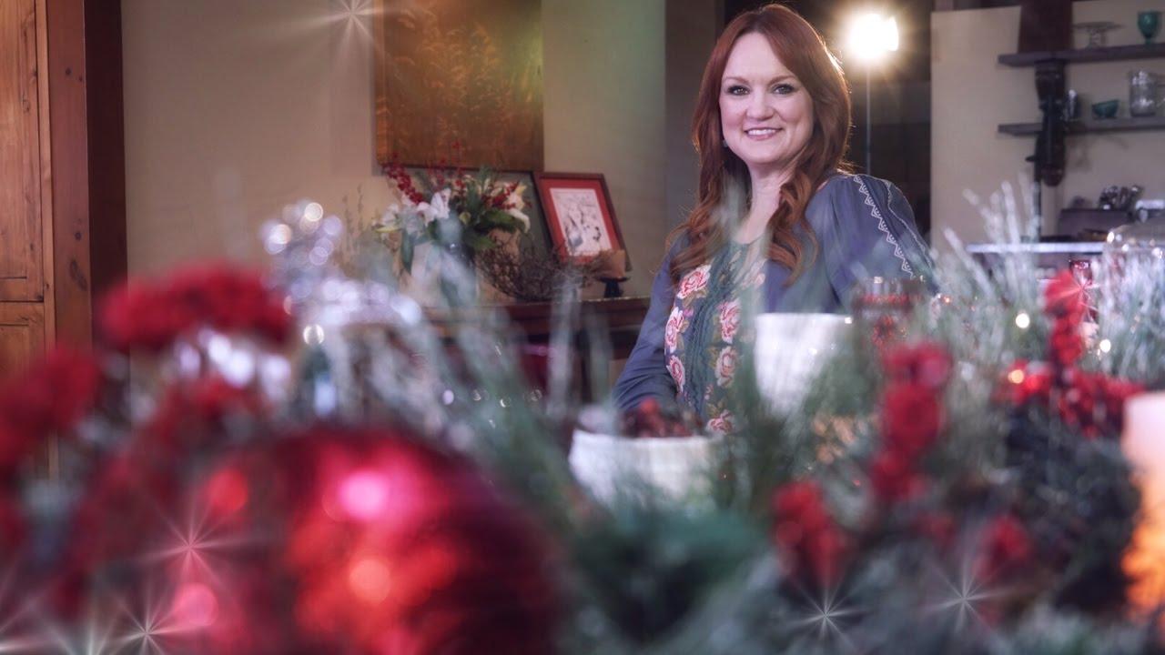 the pioneer woman stress free holiday gatherings - Pioneer Woman Christmas