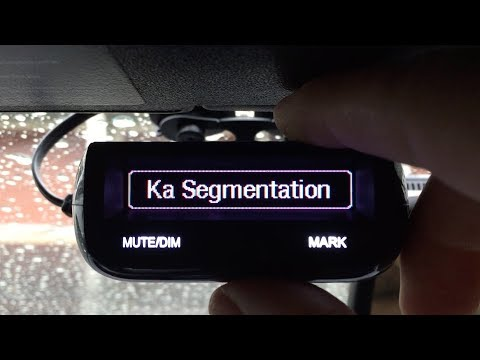 Uniden R1 & R3 firmware 1.31 released with Ka Band Segmentation