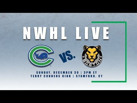 NWHL Live: Boston at Connecticut 12.30.18