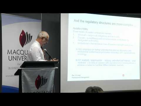 Value Lecture - The Sociology of Finance - Macquarie University