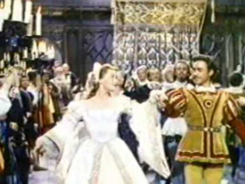 1953 Walt Disney's The Sword and The Rose  Princess Mary Tudor's Ball